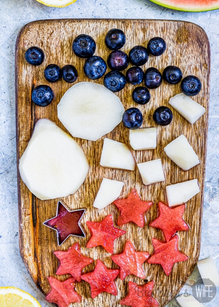 Cutting Fruit and Cutting Watermelon into stars