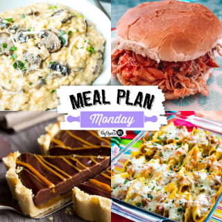 Welcome to Meal Plan Monday 265! We're featuring recipes like, Mexican Stuffed Shells, Slow Cooker Buffalo Chicken, Insanely Easy No Bake Caramel Chocolate Tart and Mushroom Risotto!