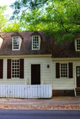 George Jackson House in Colonial Williamsburg