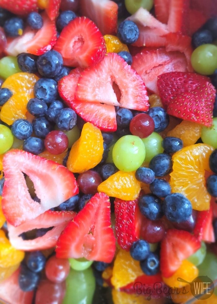 Mixed Fruit in bowl