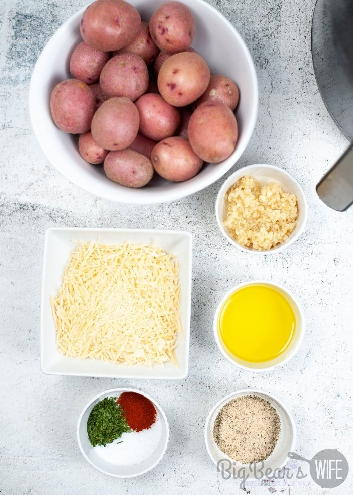 AIR FRYER ROASTED POTATOES ingredients