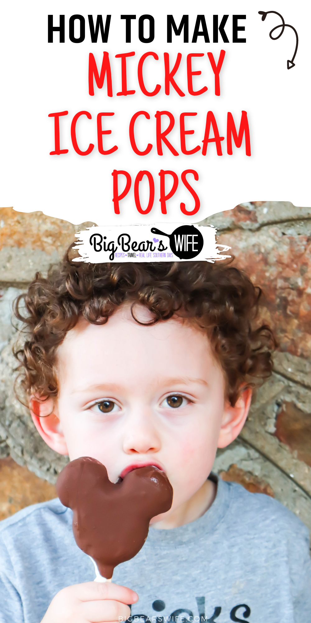 Love those Mickey Mouse Ice Cream pops at Disney World? Crave them when you're at home? This is how you make Homemade Mickey Ice Cream Pops with ANY ice cream flavor inside! via @bigbearswife