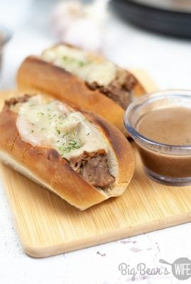 Instant Pot French Dip Sandwiches (1)
