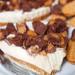 Peanut Butter Cheesecake Pie #SummerDessertWeek