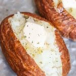 How to Cook Air Fryer Baked Potatoes