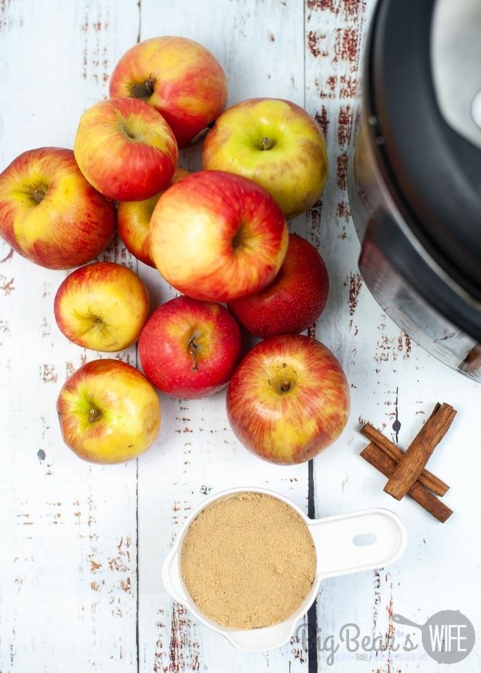 Ingredients for Apple Cider
