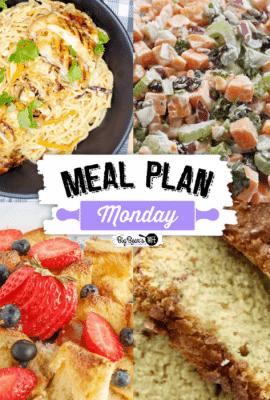 Meal Plan Monday 278