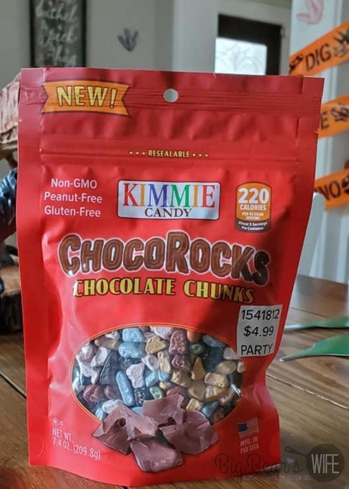 chocolate candy rocks