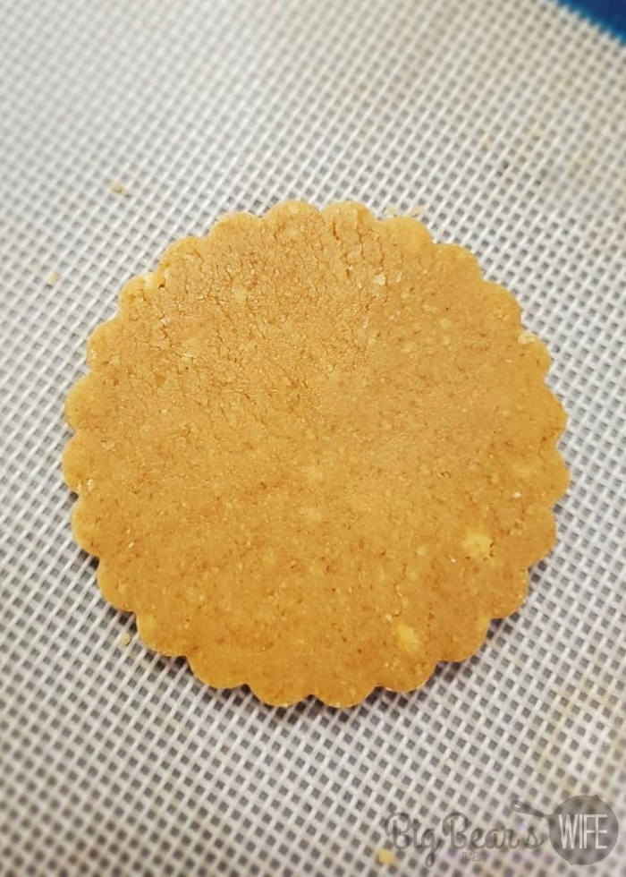 cookie before baking