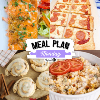 Welcome to this week's Meal Plan Monday! So many delicious recipes to give you inspiration this week!