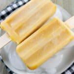 Pumpkin Latte Popsicles