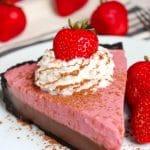 Chocolate Strawberry Cream Pie