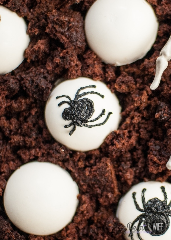 Halloween Spider Egg Domes Dessert (2)