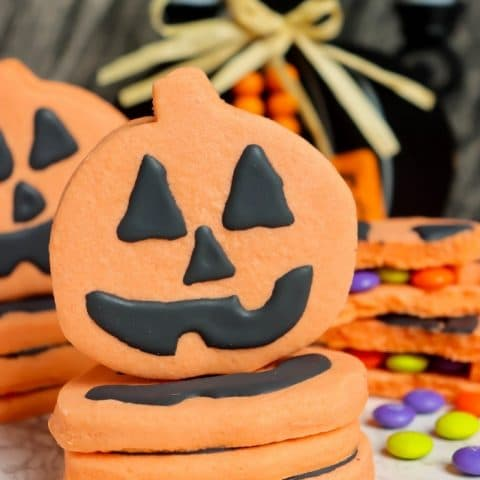 Pumpkin Piñata Cookies