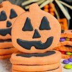Pumpkin Piñata Cookies #HalloweenTreatsWeek